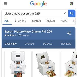 Epson Picturemate pm 225